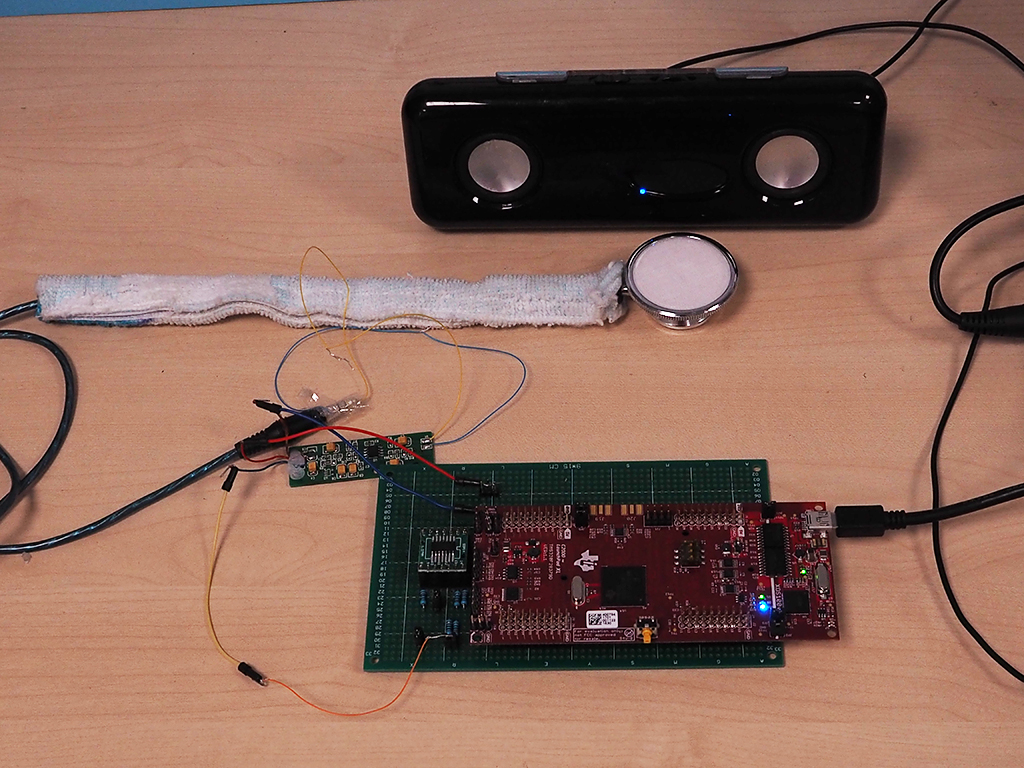 Image of the first prototype