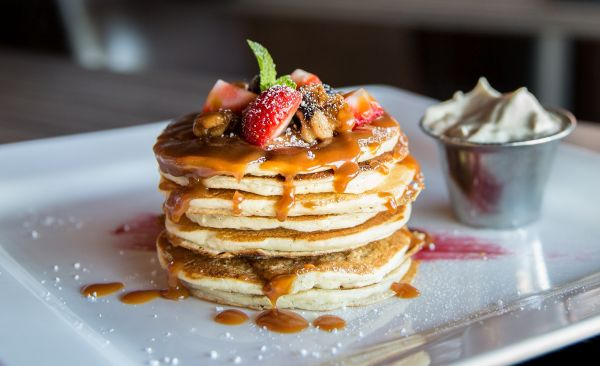 Pancakes can be healthy